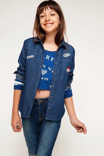 Genç Kız Gömlek DeFacto