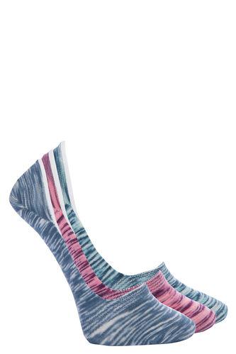 3'lü Desenli Suba Çorap
