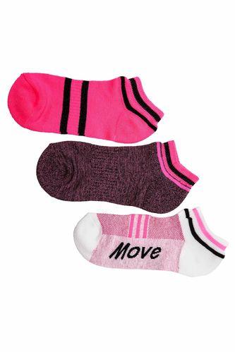 3'lü Patik Çorap