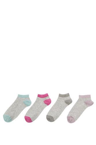 4'lü Kısa Çorap Seti