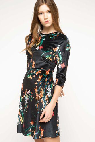DeFacto Desenli Elbise