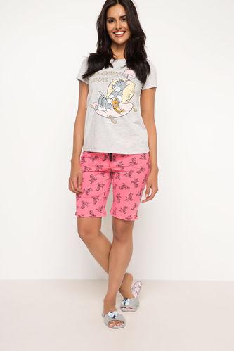 Tom ve Jerry Baskılı Lisanslı Pijama Takımı