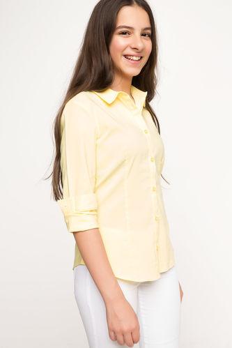 Genç Kız Basic Gömlek DeFacto
