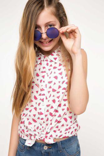 Baskılı Genç Kız Gömlek DeFacto