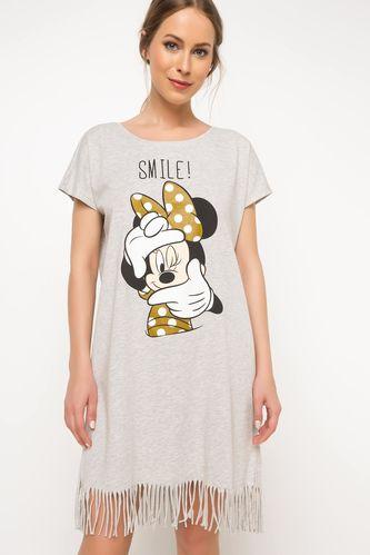 Minnie Mouse Baskılı Lisanslı Gecelik
