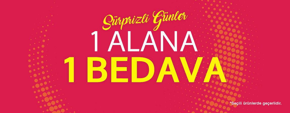 1 Alana 1 Bedava!
