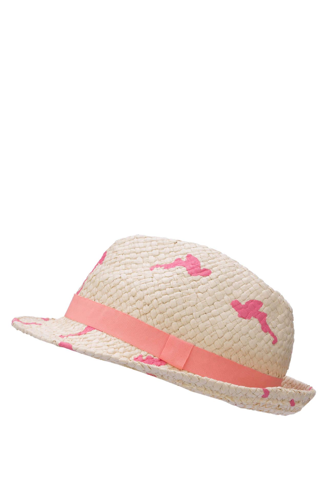 DeFacto Kız Çocuk Hasır Şapka Bej female