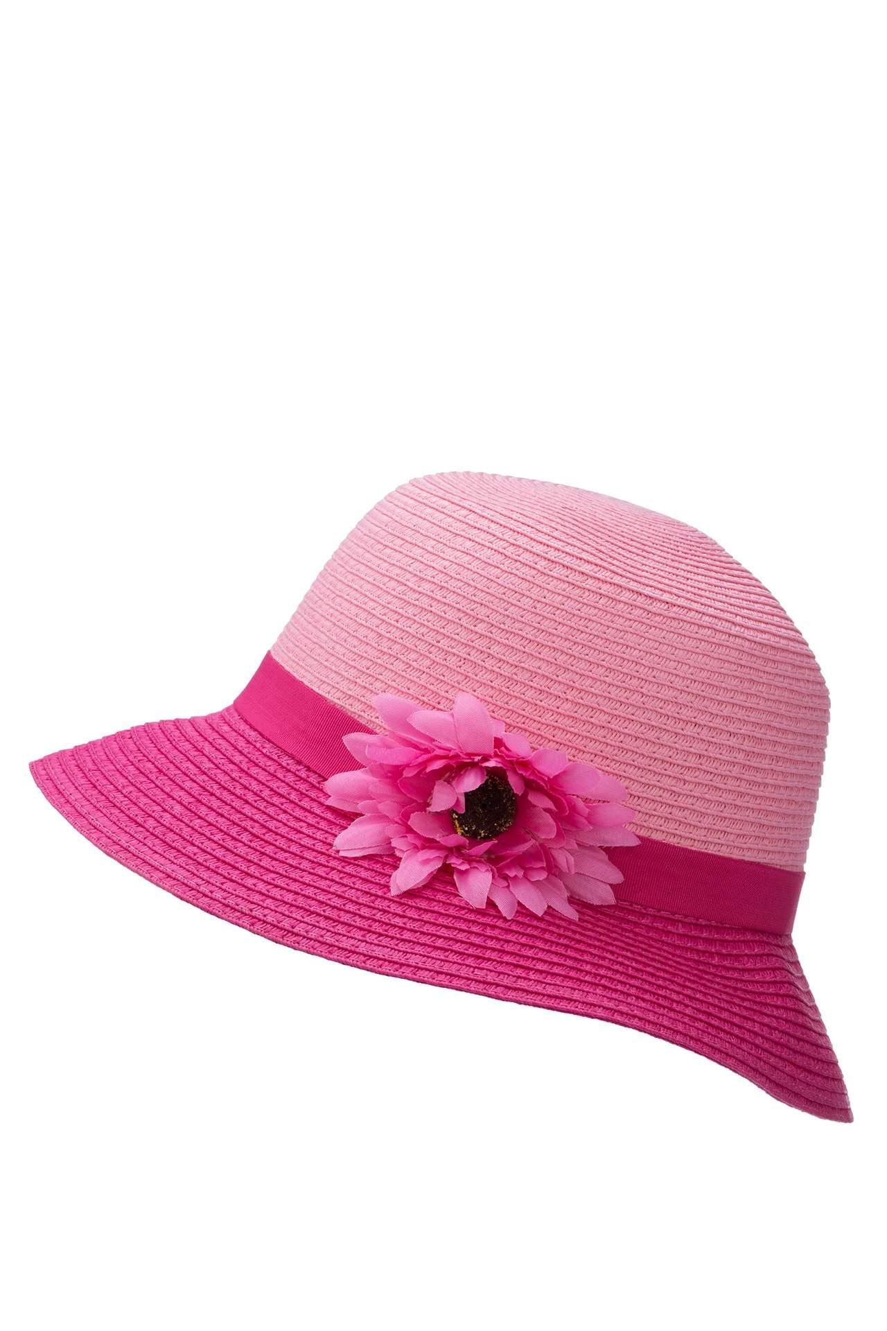 DeFacto Kız Çocuk Hasır Şapka Pembe female