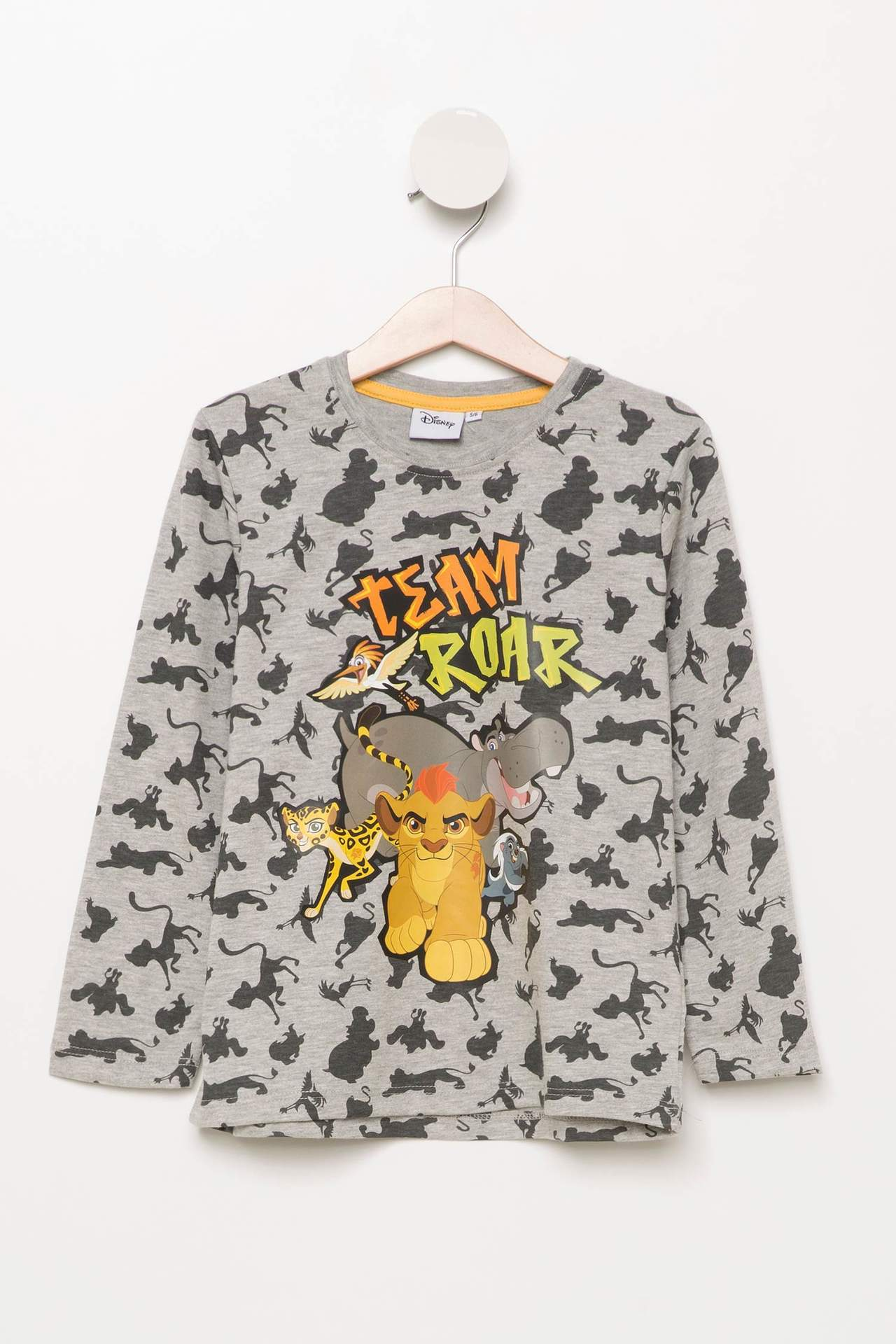 Lion Guard Lisanslı Erkek Çocuk Renk Değiştiren T-shirt