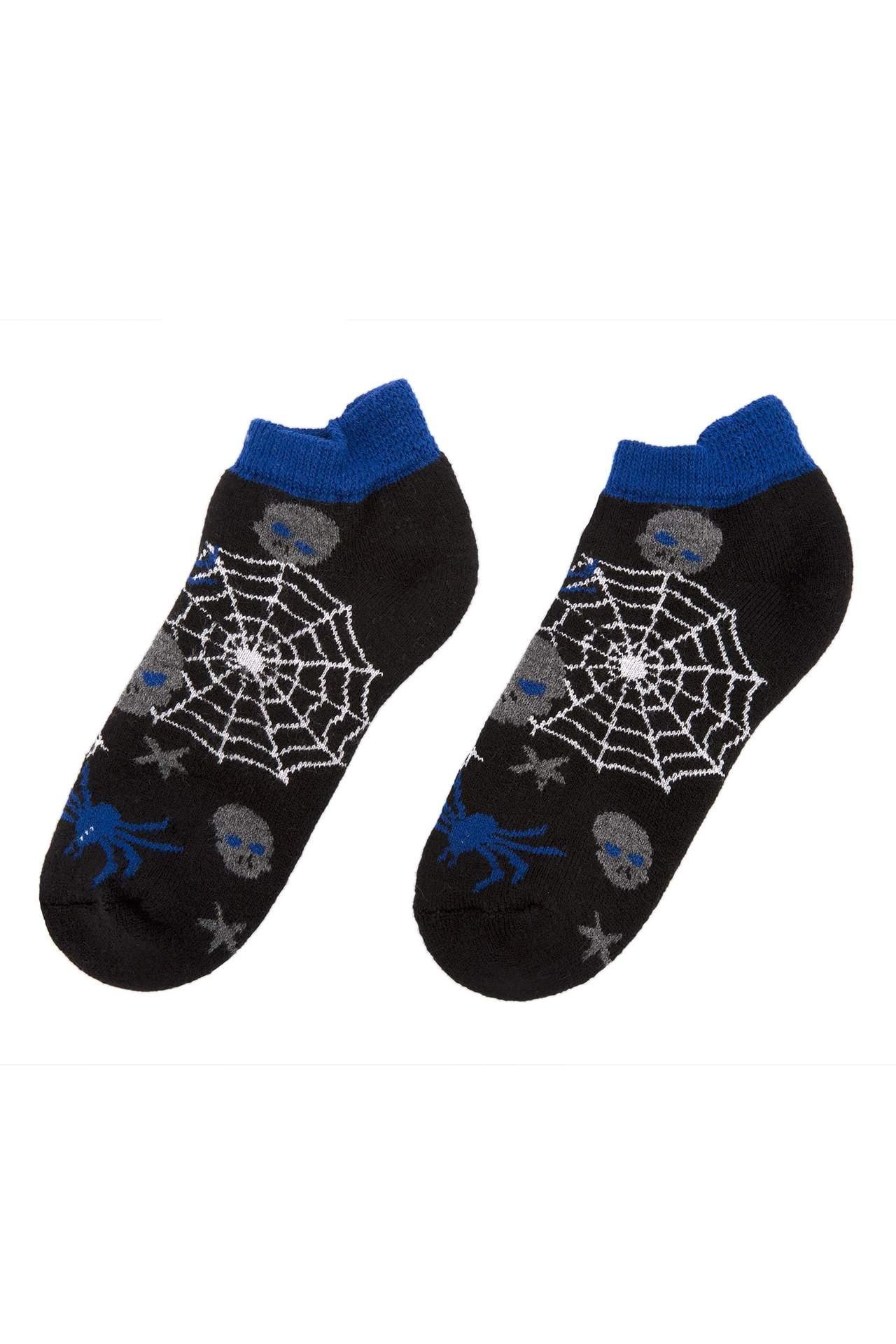 DeFacto Erkek Çocuk Termal Çorap Siyah male