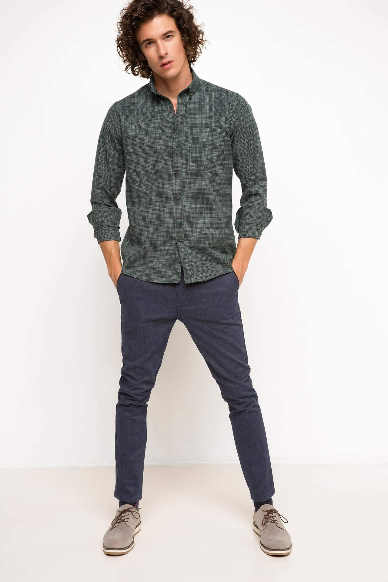 Paco Slim Fit Chino Pantolon