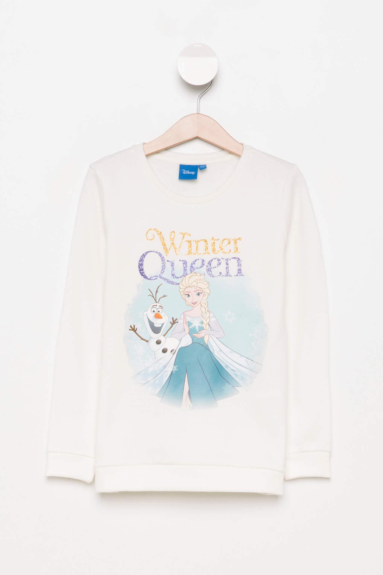 Disney Frozen Lisanslı Kız Çocuk Sweatshirt