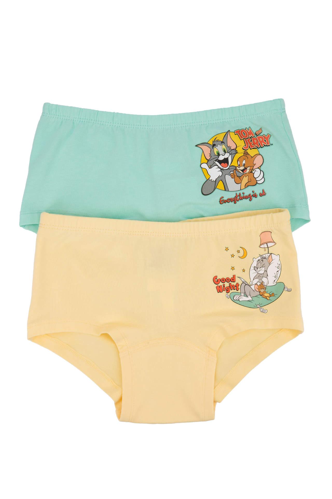Tom & Jerry Lisanslı Kız Çocuk İkili İç Çamaşırı