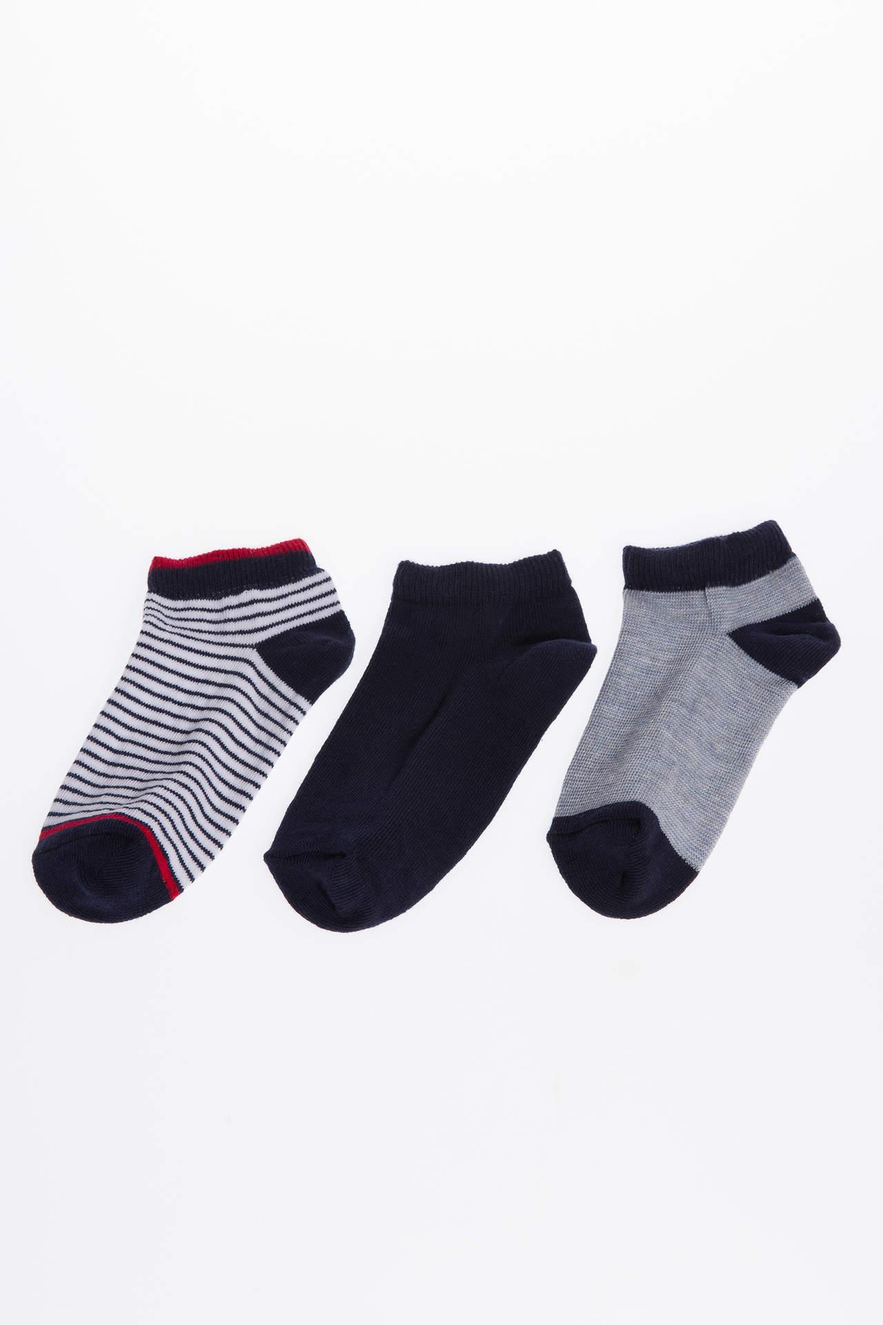 DeFacto Erkek Çocuk 3'lü Çorap male