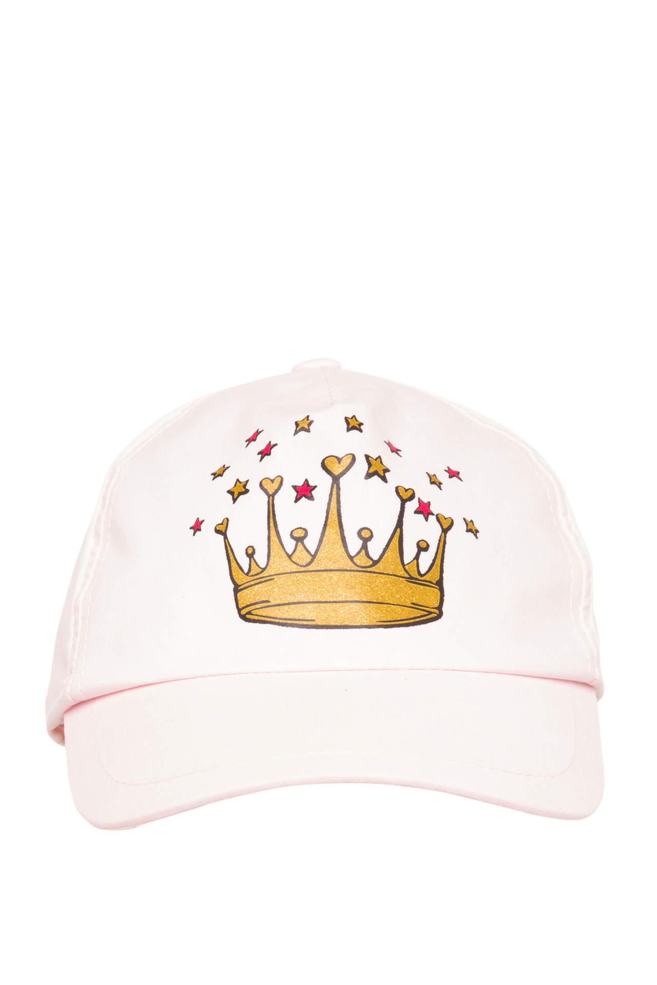 DeFacto Kız Çocuk Trend Baskılı Şapka Pembe female
