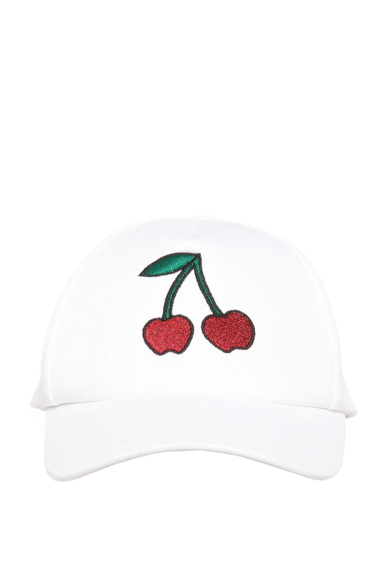 DeFacto Kız Çocuk Baskılı Şapka Beyaz female