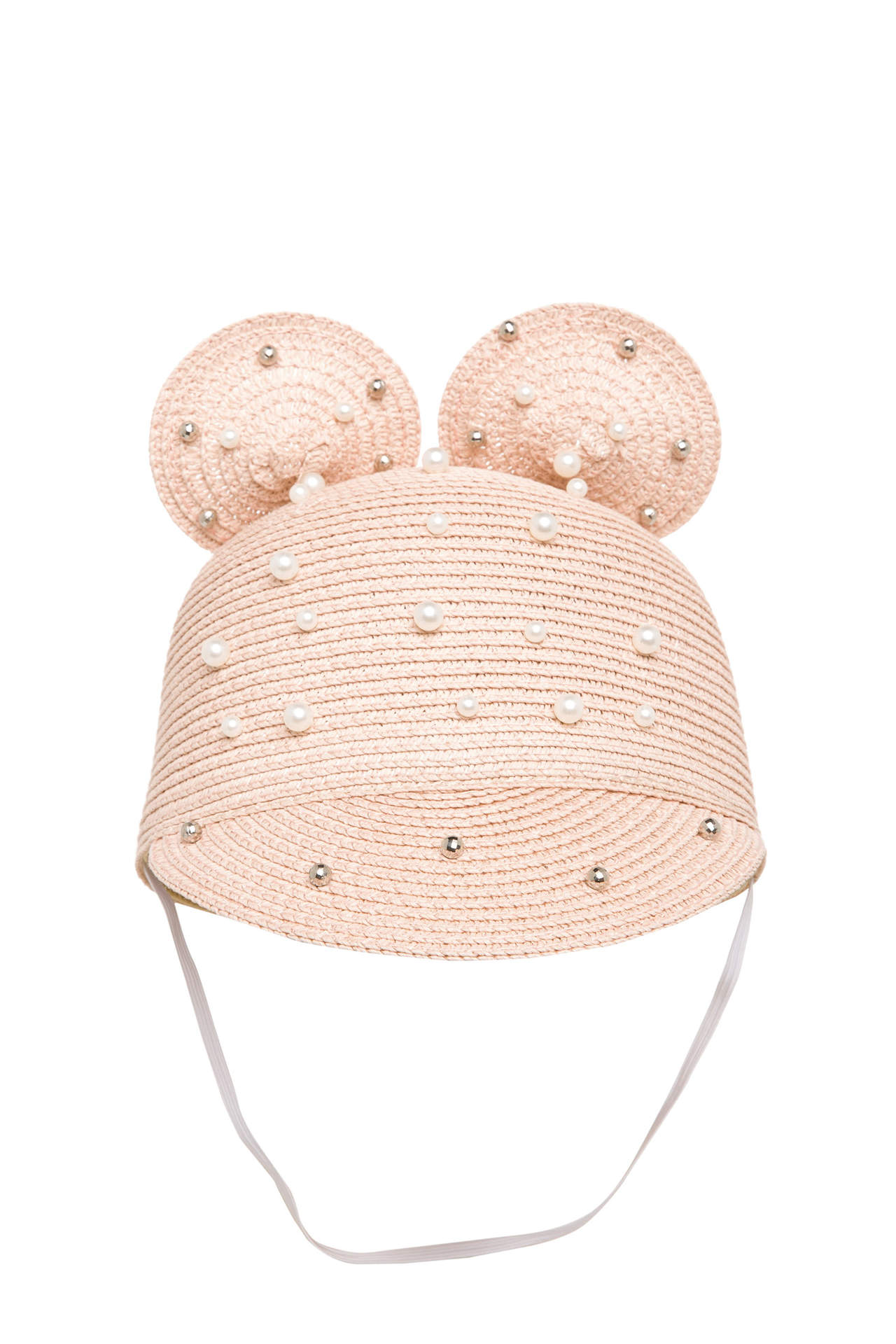 DeFacto Kız Çocuk İnci Detaylı Şapka Pembe female