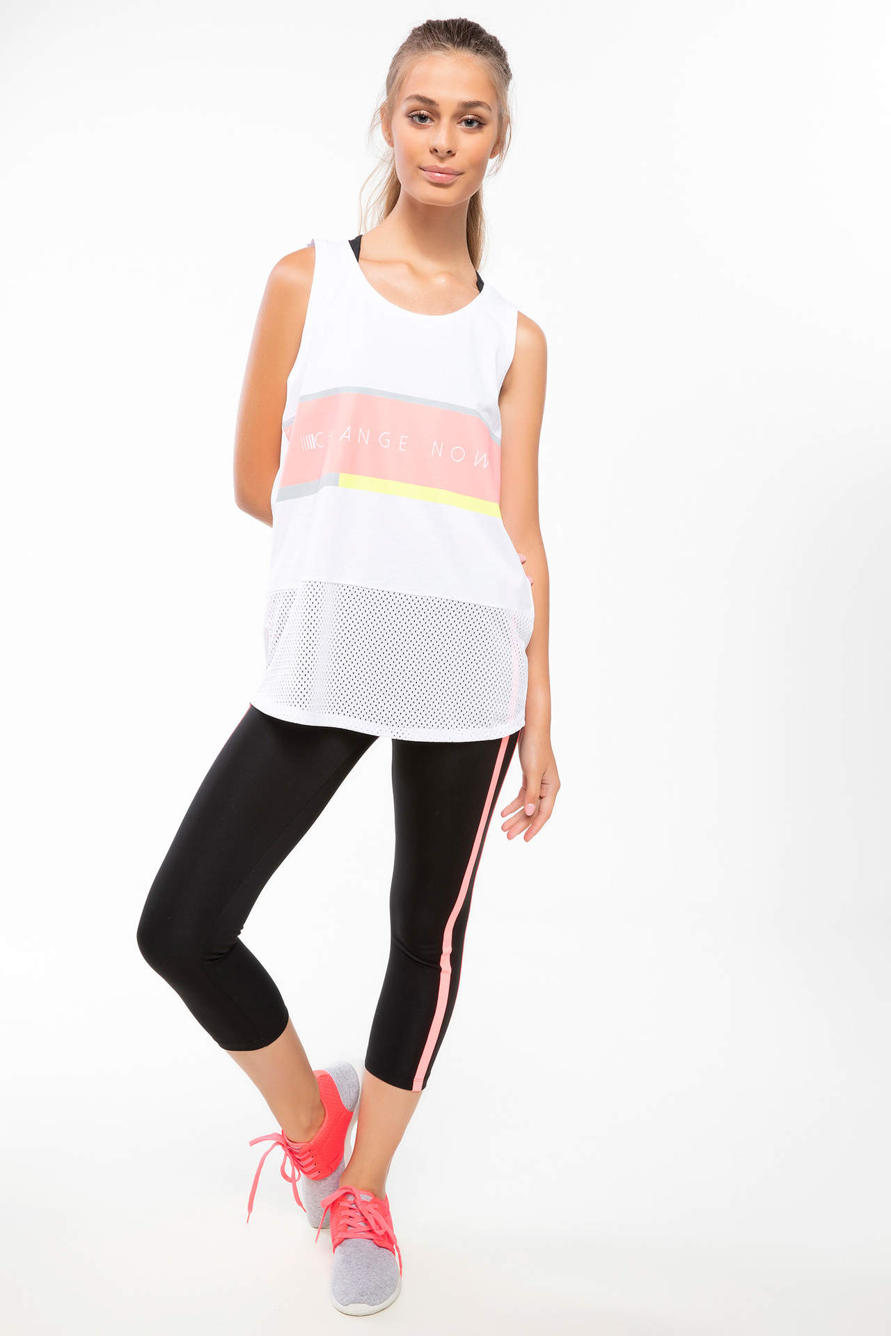 DeFacto Kadın Sporcu Slim Fit Tayt Siyah female