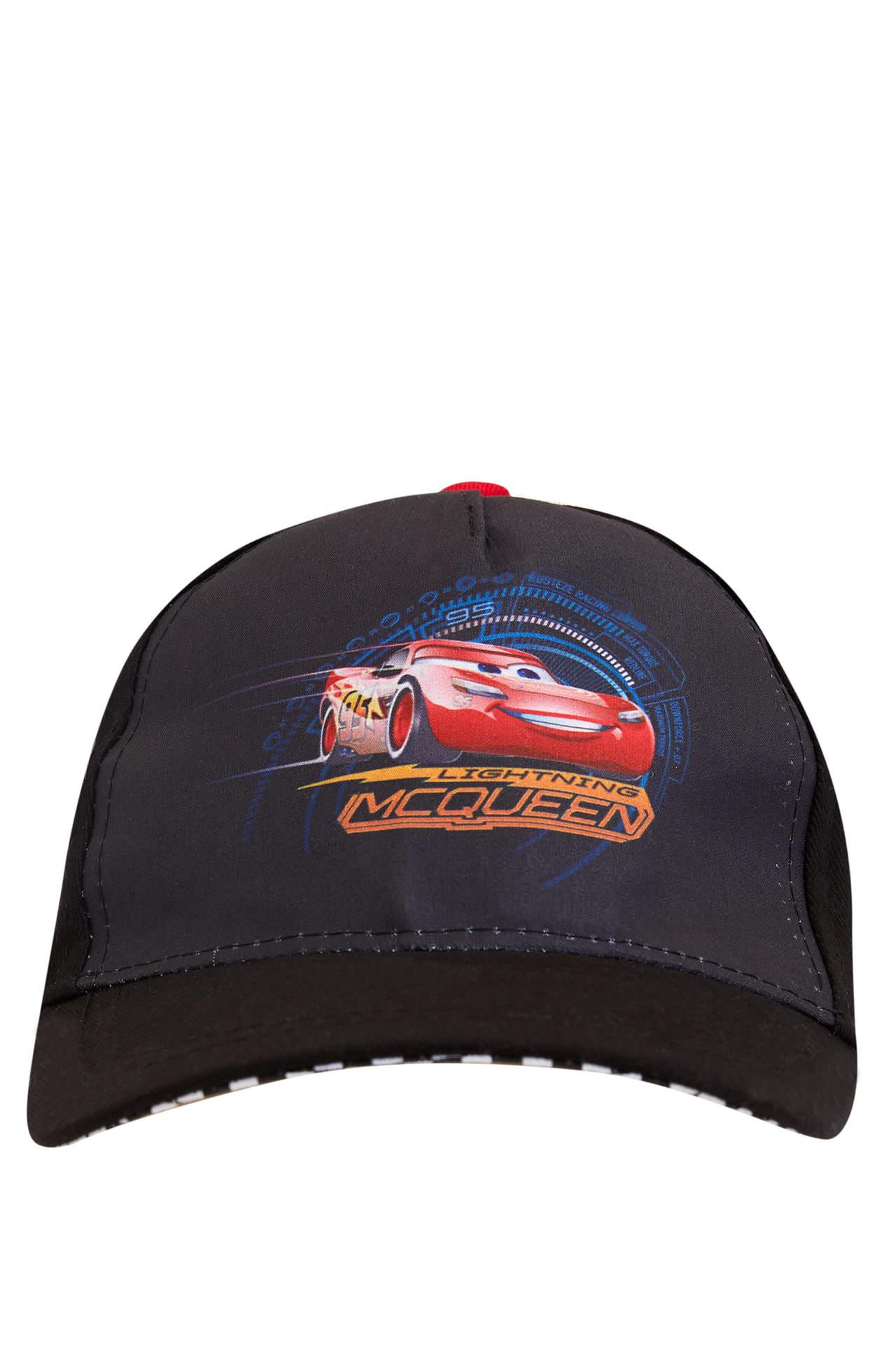 DeFacto Erkek Çocuk Cars Lisanslı Şapka Siyah male