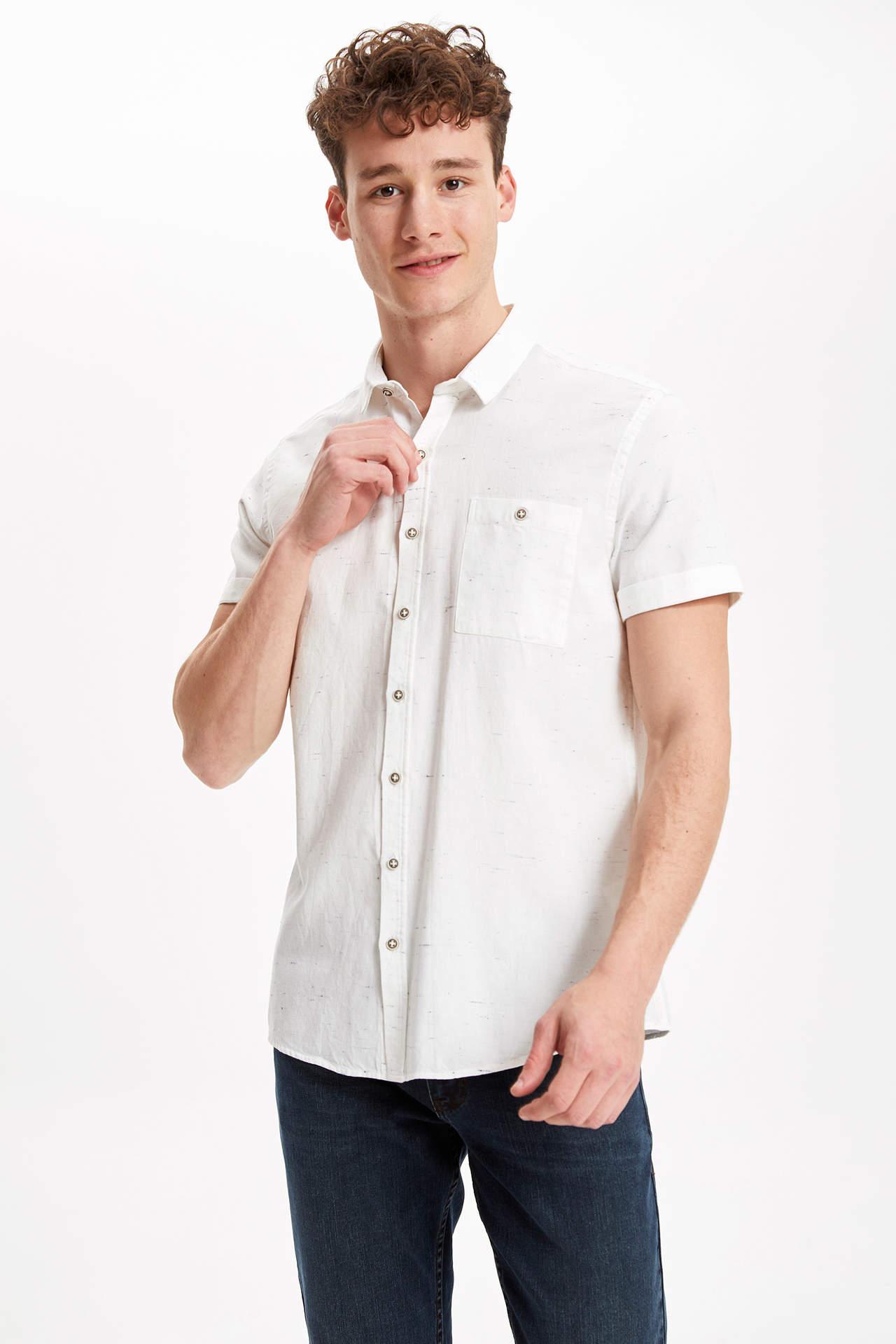 ouxiuli Mens Print Shirts Blouse Long Sleeves Button Down Shirt
