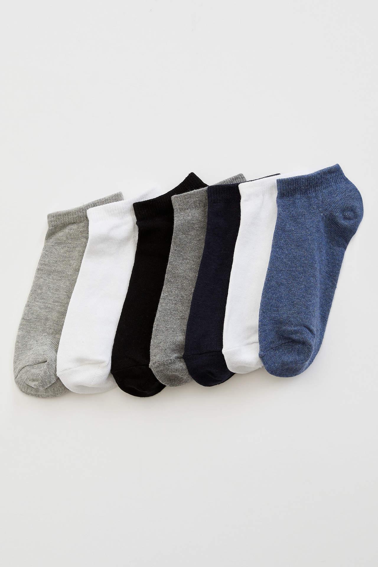 DeFacto Erkek Çocuk 7'li Kısa Çorap male