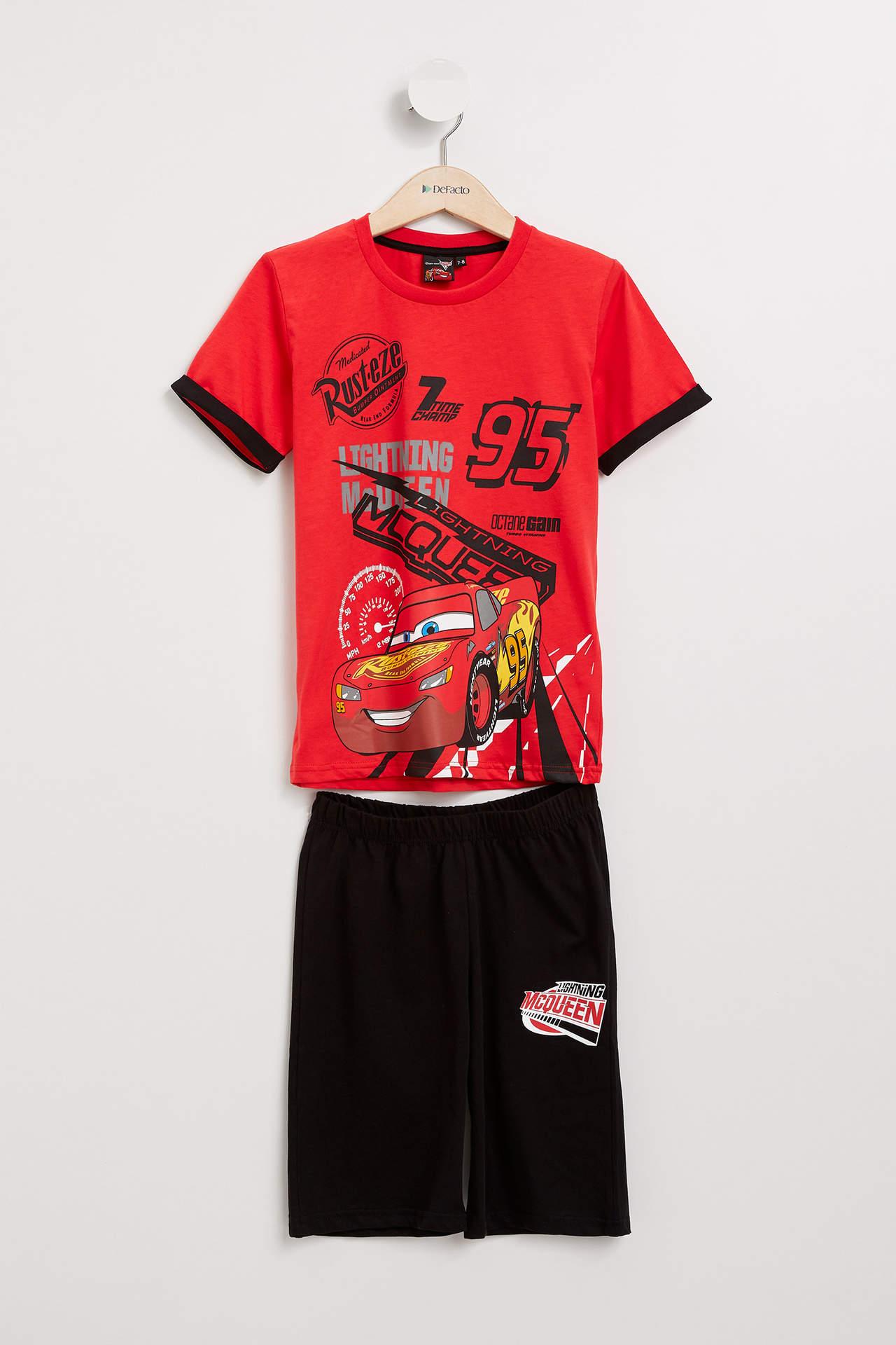 DeFacto Erkek Çocuk Cars 3 Lisanslı Pijama Takımı Kırmızı male