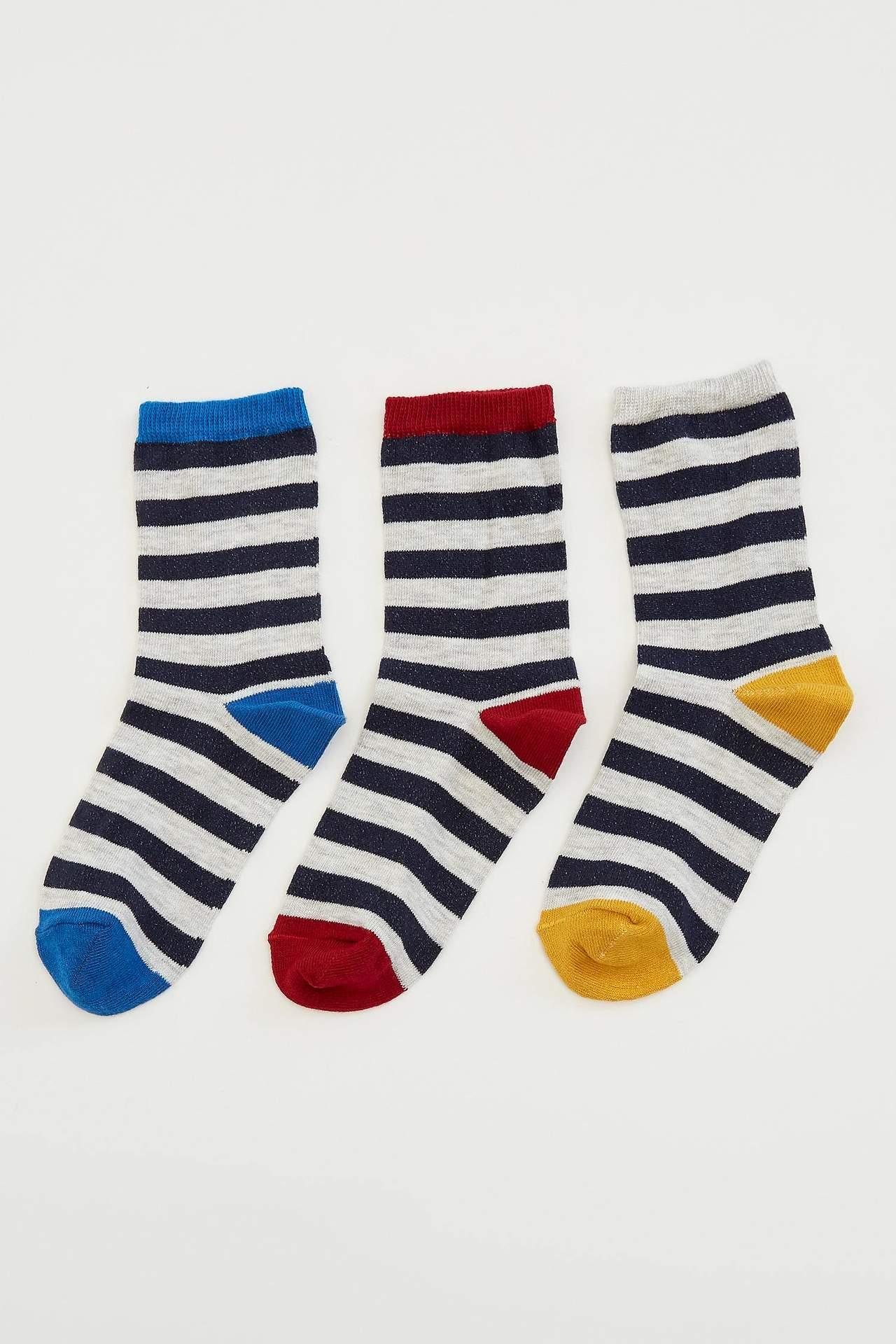 DeFacto Erkek Çocuk 3'lü Çorap Set male