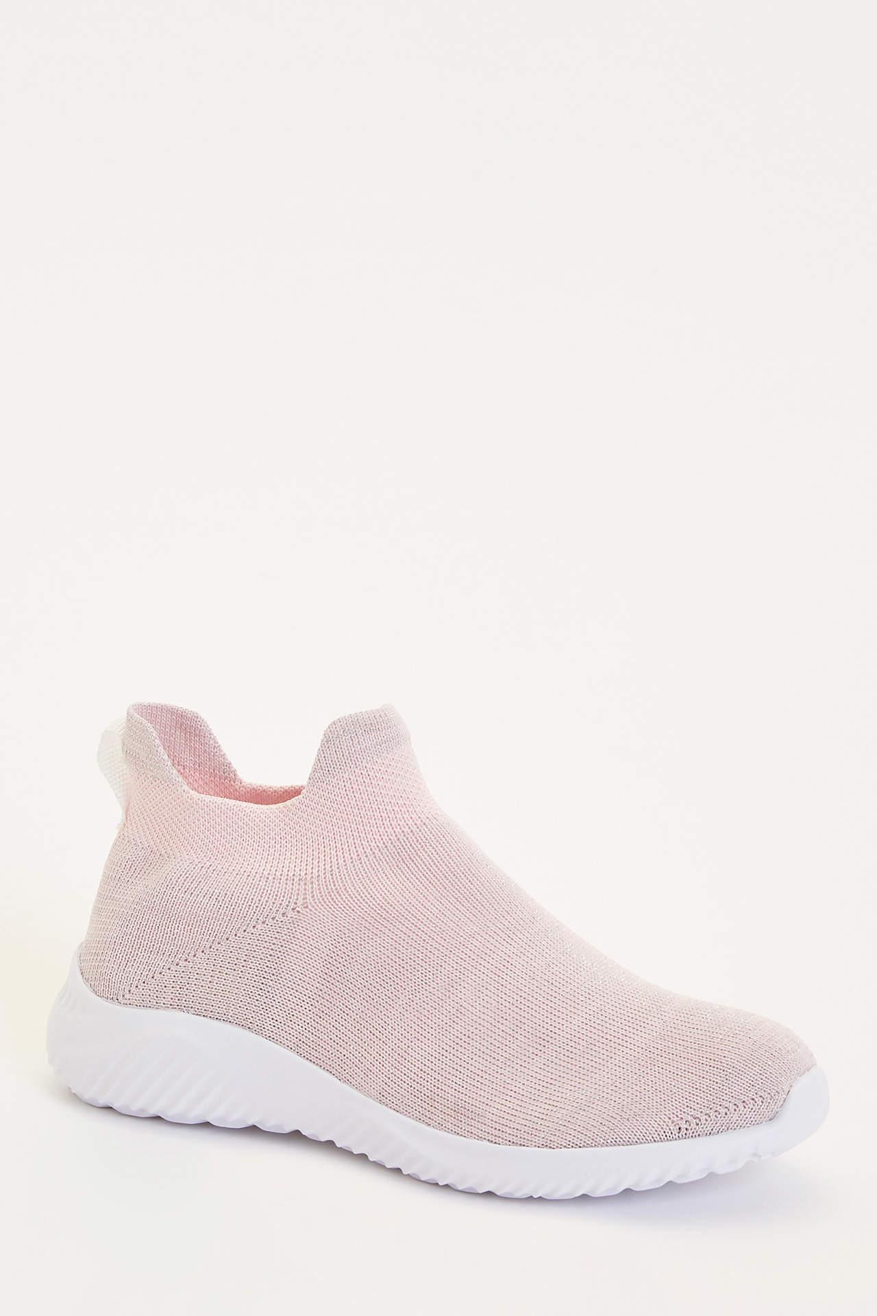 DeFacto Kız Çocuk Çorap Model Spor Ayakkabı Pembe female