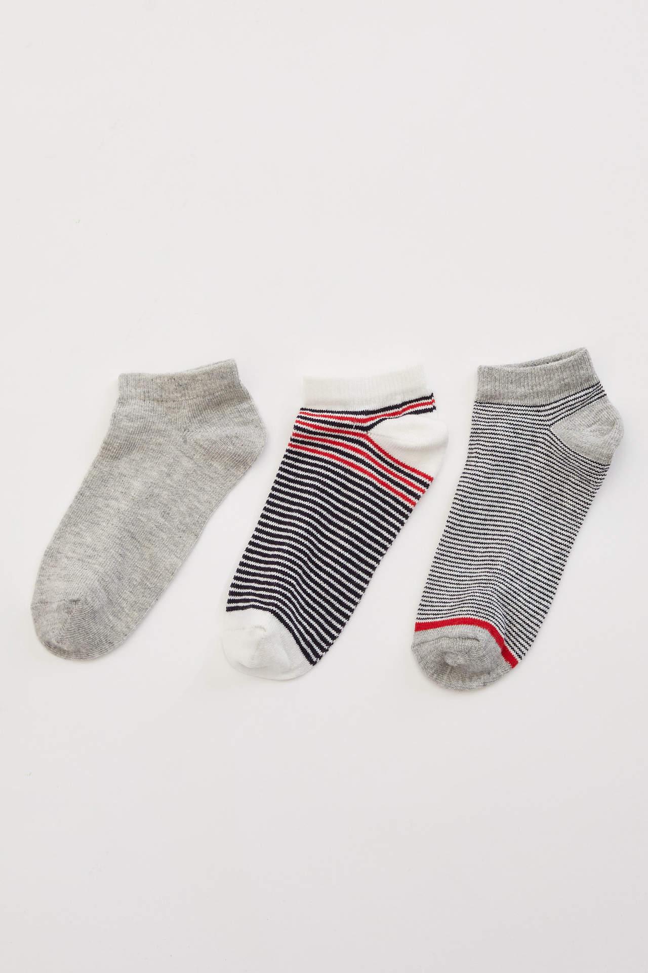 DeFacto Erkek Çocuk 3'lü Kısa Çorap male