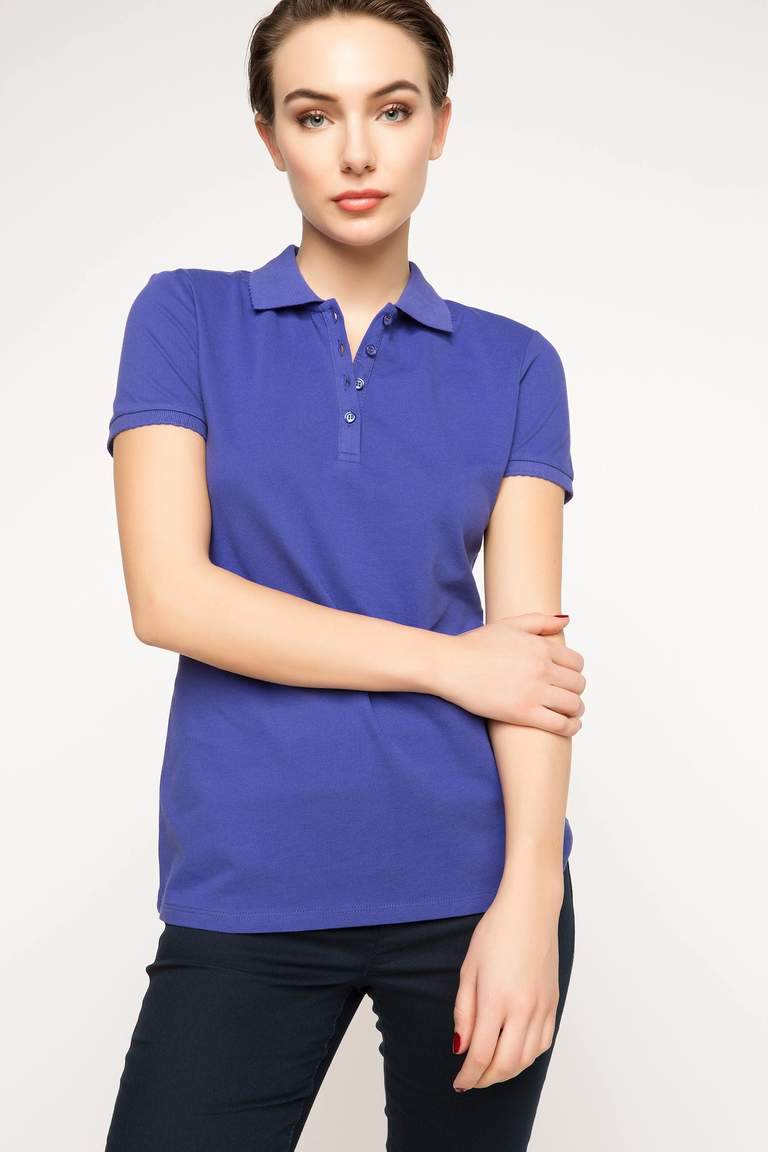 DeFacto Mor Basic Polo T-Shirt 1