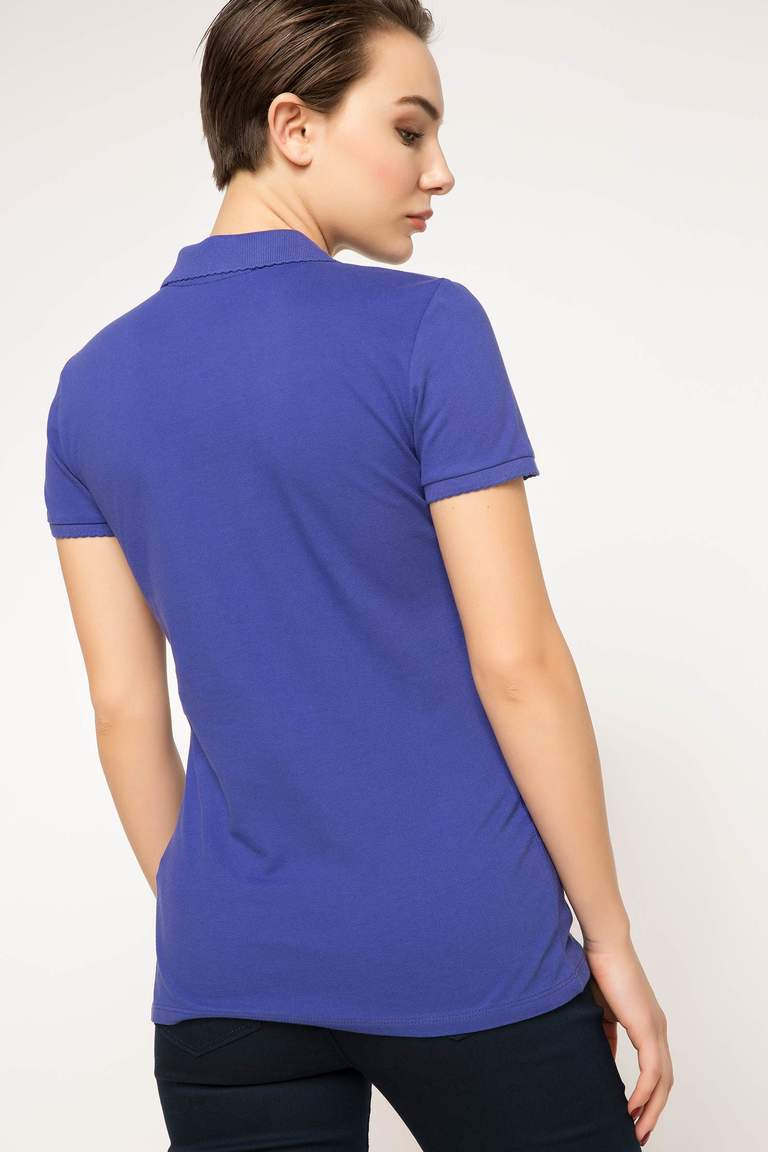 DeFacto Mor Basic Polo T-Shirt 3