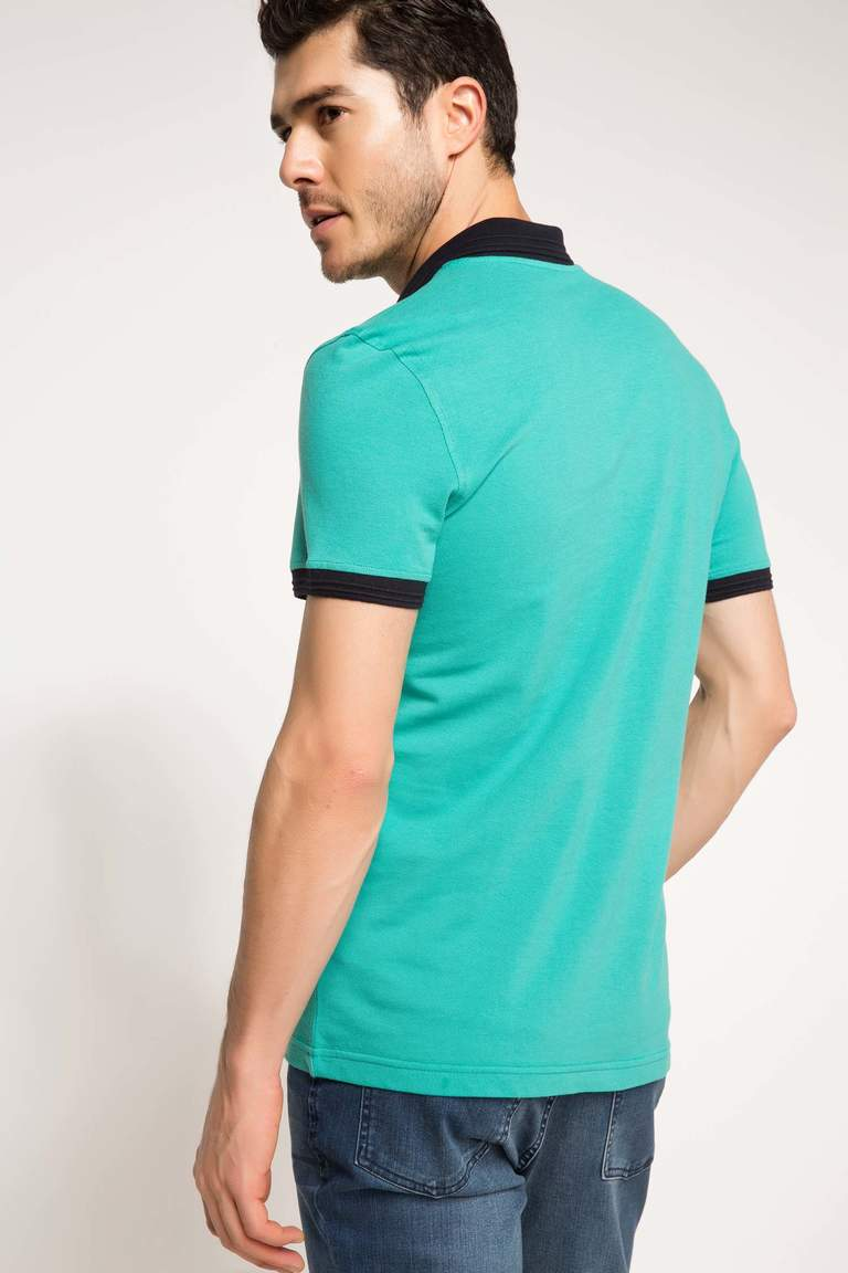 DeFacto Karma 3 Erkek Basic Slim Fit Polo T-shirt 3