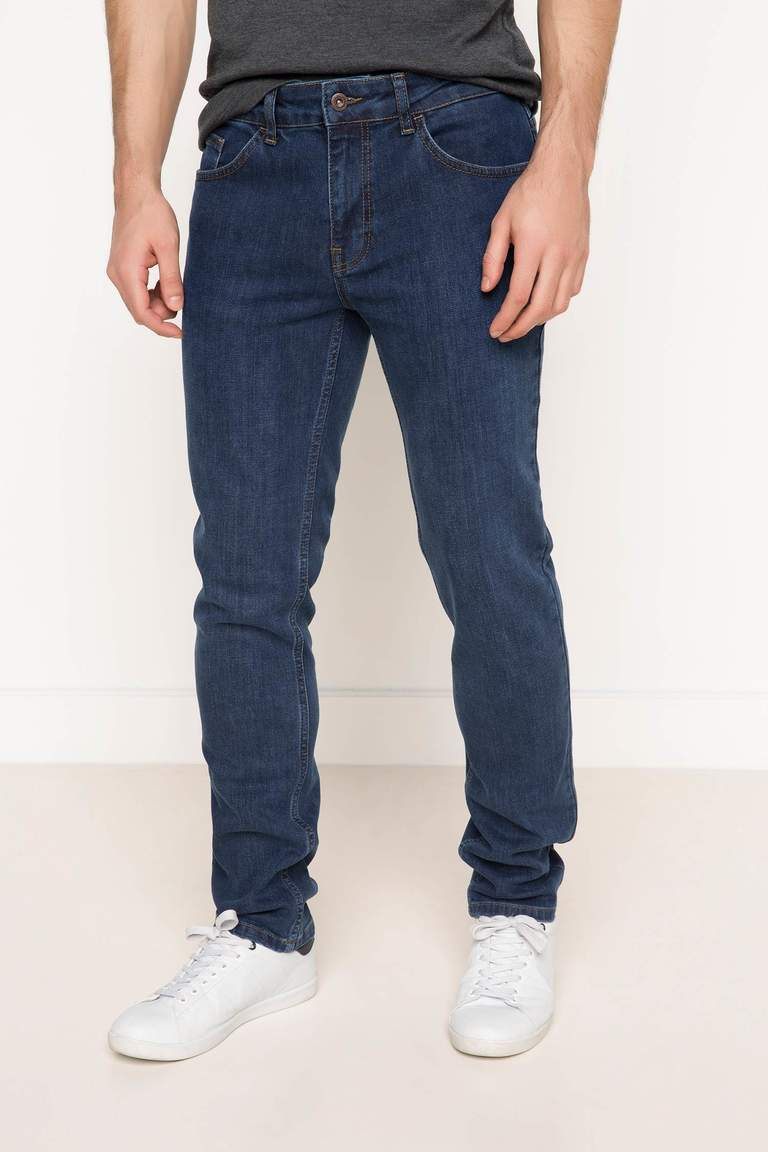DeFacto Karma 3 Erkek Leo Regular Fit Denim Pantolon 1