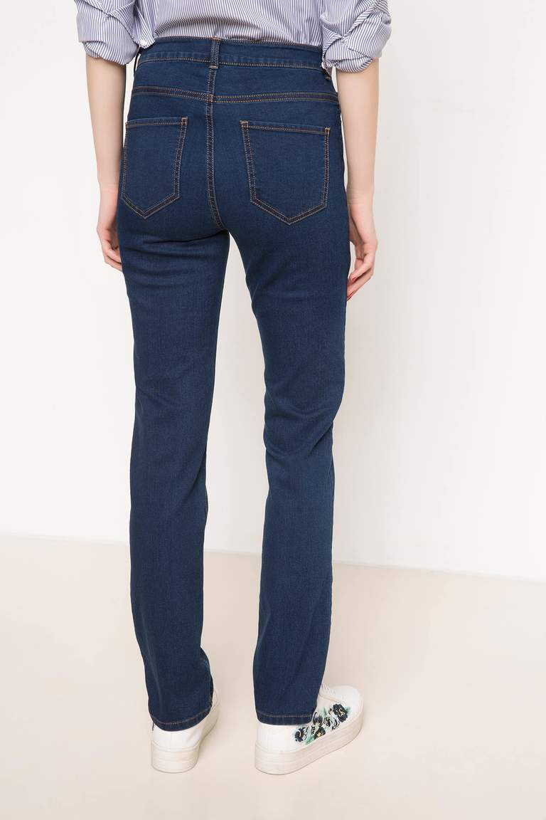 DeFacto Mavi Denim Pantolon 3