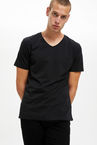 Slim Fit V Yaka Basic 2
