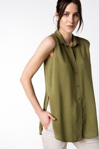 Kolsuz Uzun Gömlek DeFacto