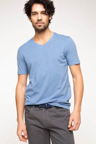 DeFacto Basic V Yaka T-shirt