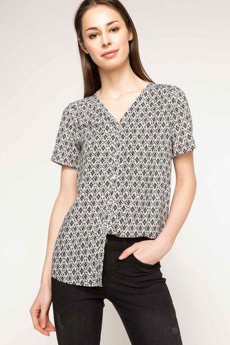 DeFacto Desenli Gömlek