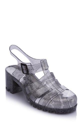 DeFacto Transparan Tokalı Sandalet