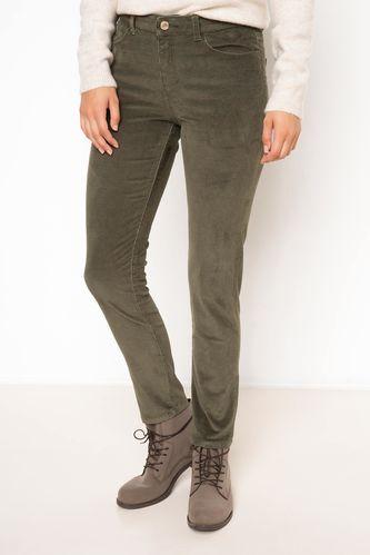DeFacto Kadife Skinny Pantolon