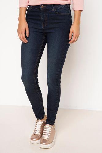 DeFacto Yüksek Bel Denim Pantolon