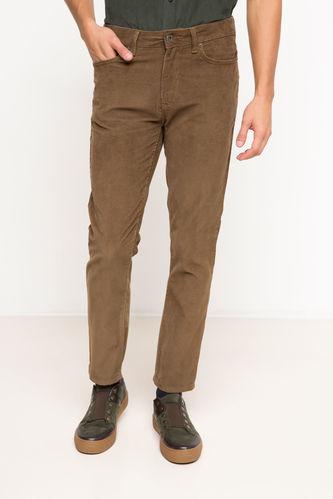 DeFacto Slim Fit Kadife Pantolon