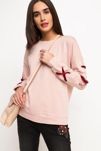DeFacto Kadife Detaylı Sweatshirt