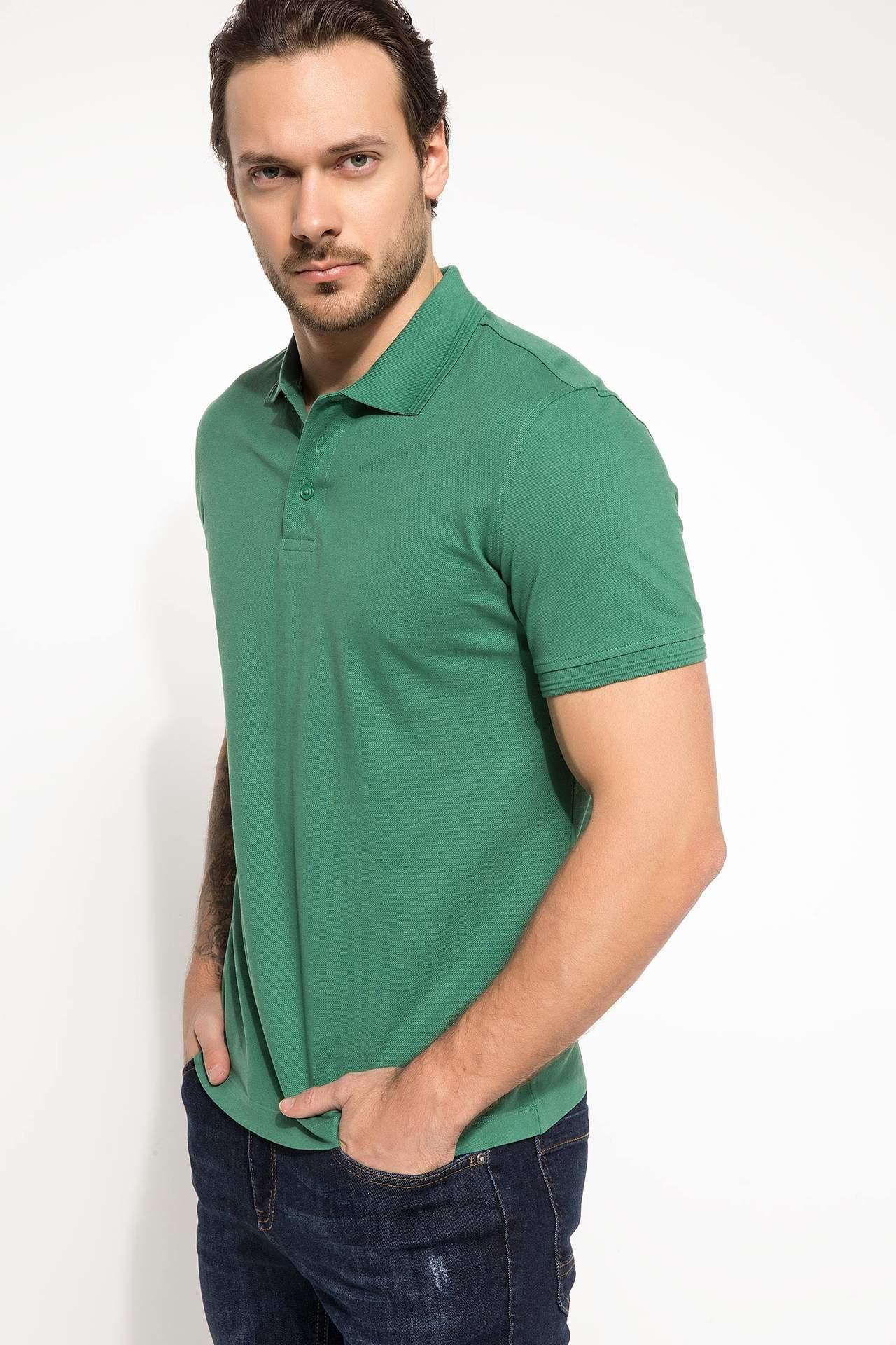 خرید اینترنتی تیشرت آستین کوتاه مردانه جدید دفاکتو ( Defacto )