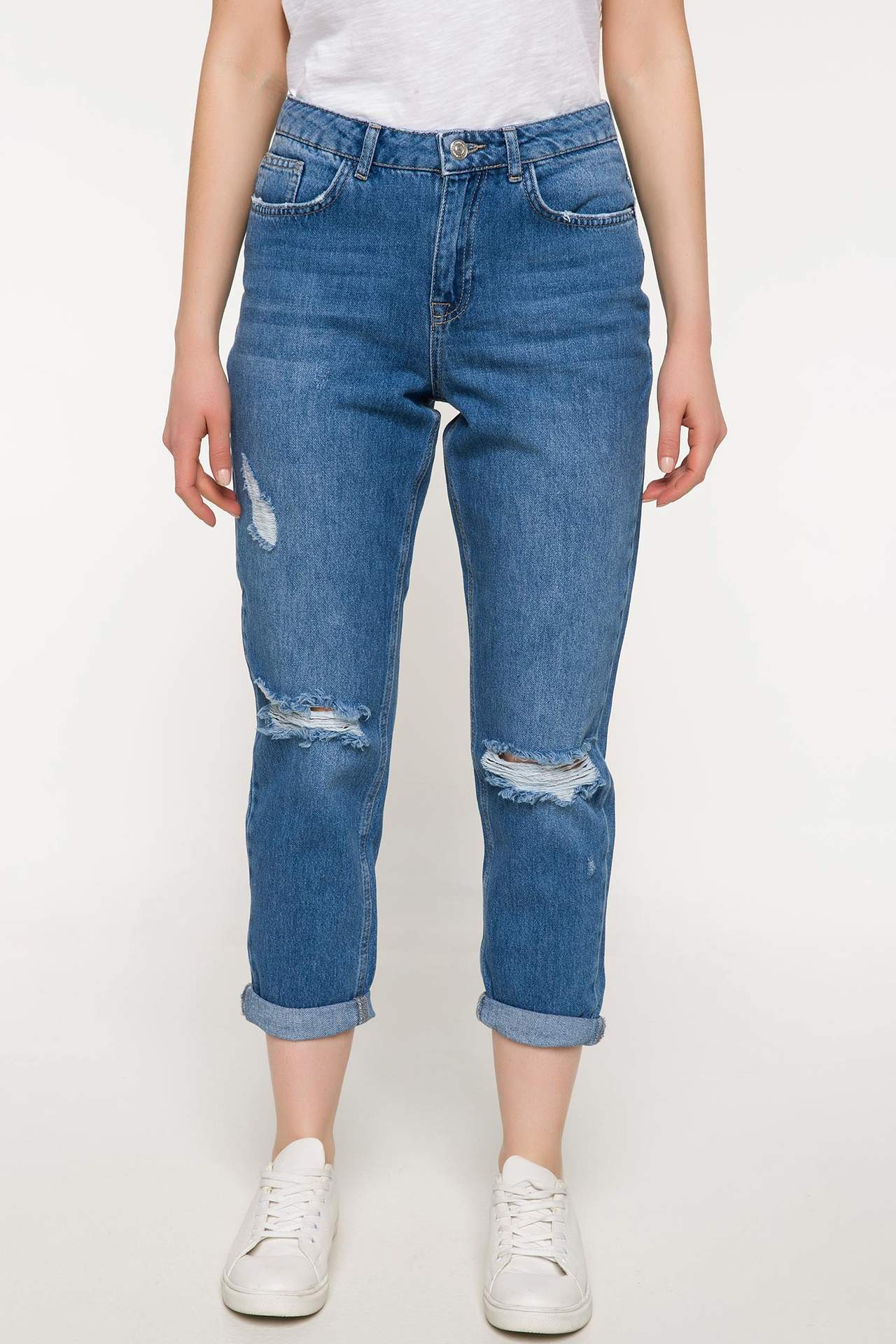 Julie Boyfriend Denim Pantolon