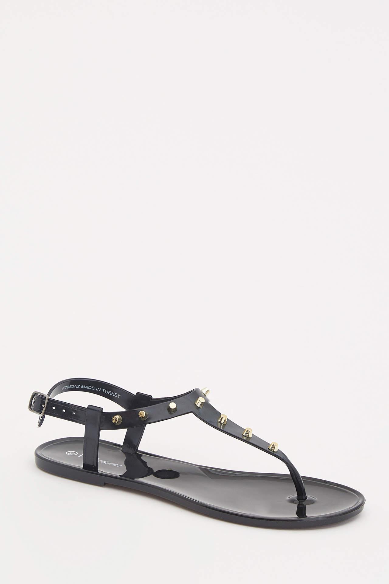 Defacto Kadın Taşlı Parmak Arası Sandalet