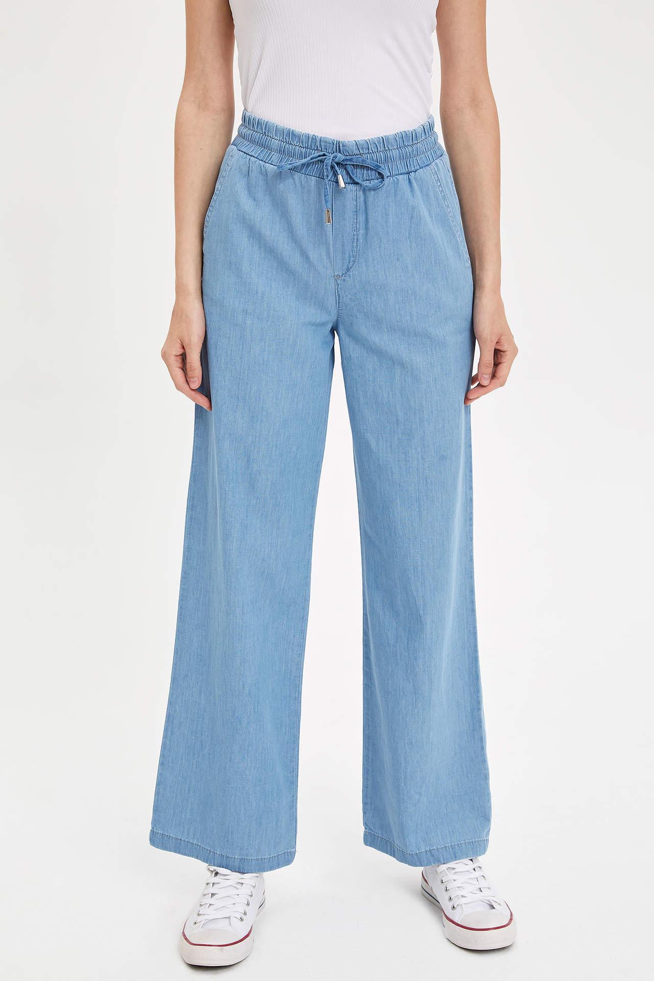 Defacto Kadın Fashion Fit Jean Pantolon
