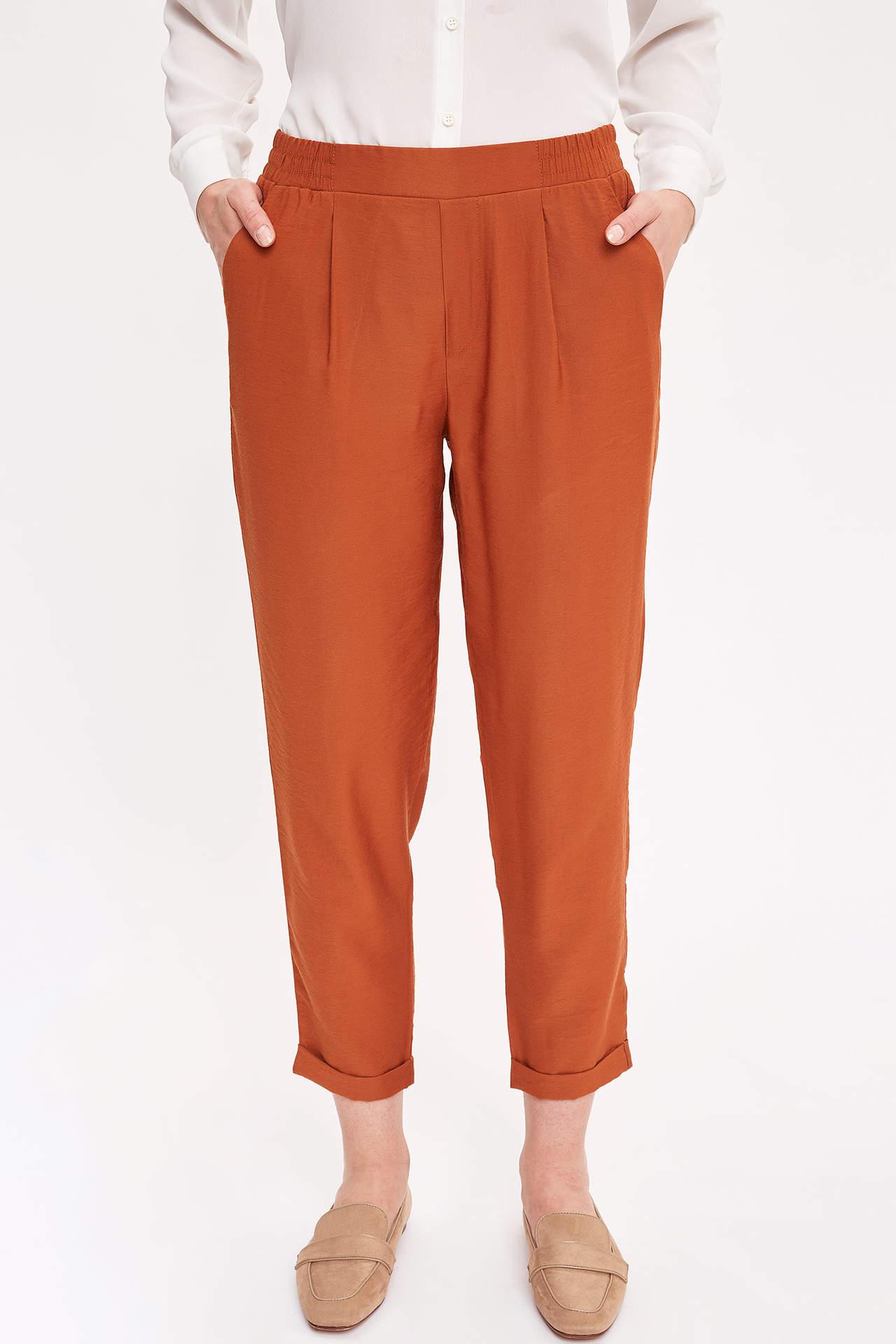Defacto Kadın Elastik Belli Jogger Pantolon