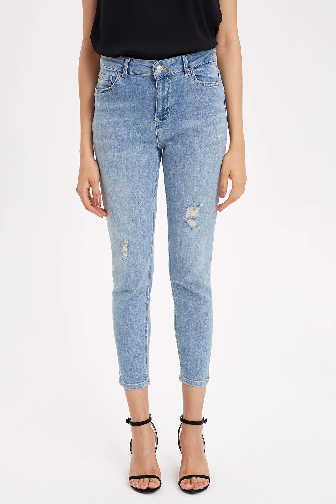 Defacto Kadın Anna Super Skinny Jean Pantolon