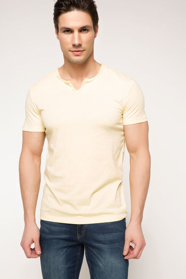 DeFacto Basic Ekstra Slim Fit T-shirt